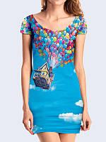 Женское 3D  Платье Вверх 2009
