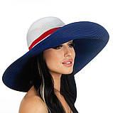 Шляпа с широкими полями двухцветная 1, фото 3
