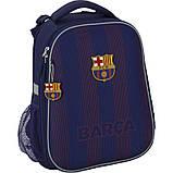 Рюкзак шкільний каркасний Kite Education FC Barcelona BC20-531M, фото 2