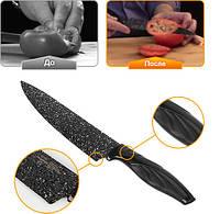 Набор ножей «Сила гранита» с керамическим покрытием 6 предметов