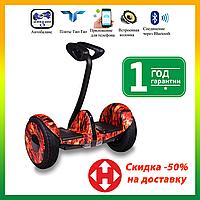 Гироскутер мини-сигвей Ninebot Mini Robot Красный огонь. Міні-сігвей гіроскутер Найнбот мини вогонь