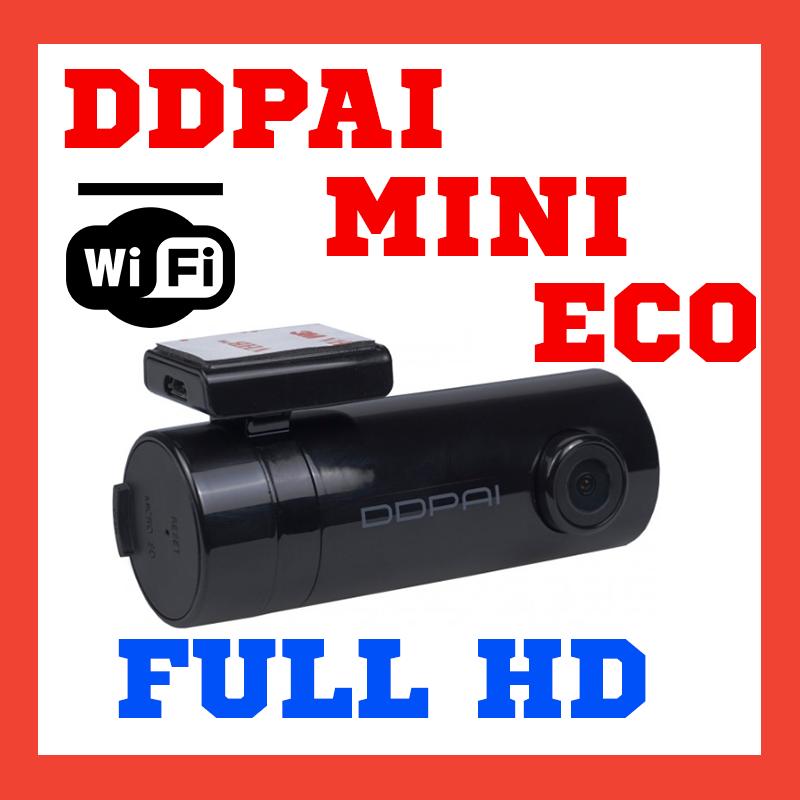 Автомобильный видеорегистратор sigma DDPAI mini WiFi FullHD