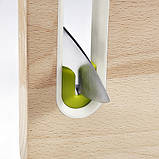 Joseph Joseph Slice&Sharpen Wood Small Доска разделочная 22,2*29,3 см (60070), фото 2