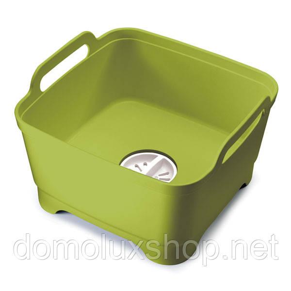 Joseph Joseph Wash&Drain Емкость для мытья посуды со сливом (85059)