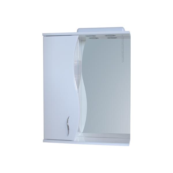 Зеркало для ванной комнаты Базис 55-09 левое ПИК
