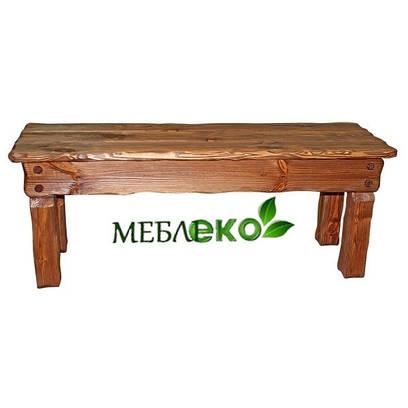 Лавочка кухонная\дачная\банная из натурального дерева под старину.