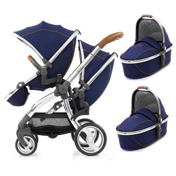 Детская универсальная коляска для двойни 2 в 1 BabyStyle Egg Tandem