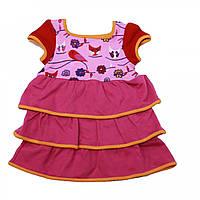 Платье из органического хлопка KOKADI (размер 50-56, розовый)