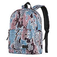 Рюкзак TeensPack разноцветный с рисунком Camo, «2E Bags&Cases» (2E-BPT6114MC)