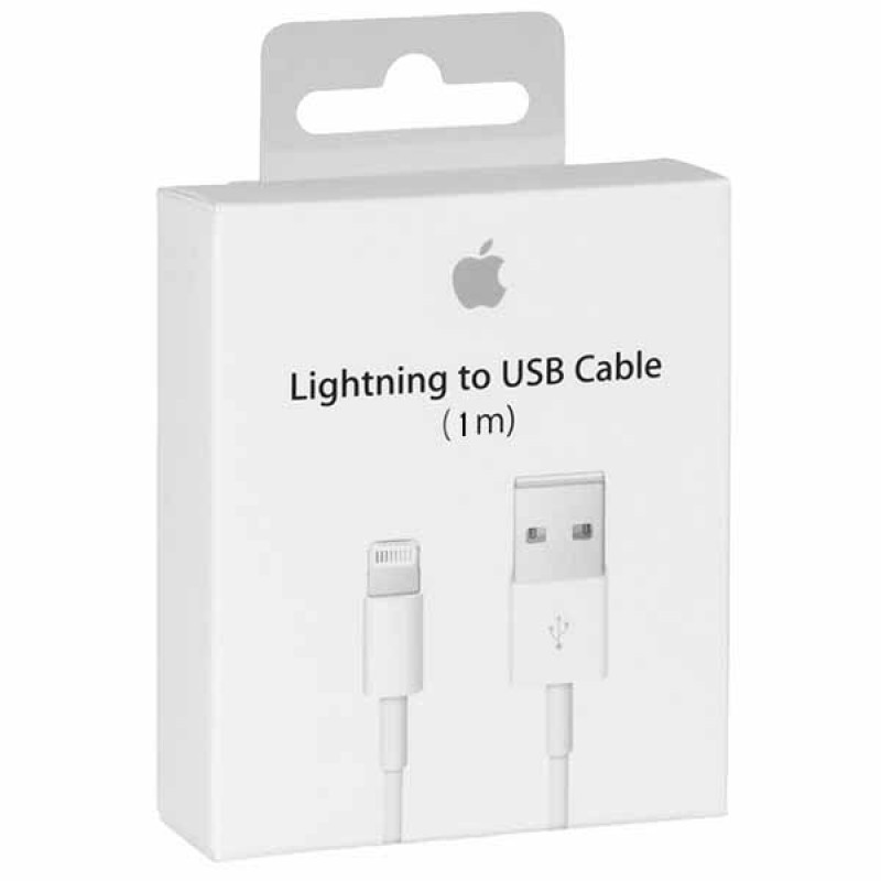 Кабель синхронизации Apple Lightning to USB Cable 1m White (MD818ZM / A)