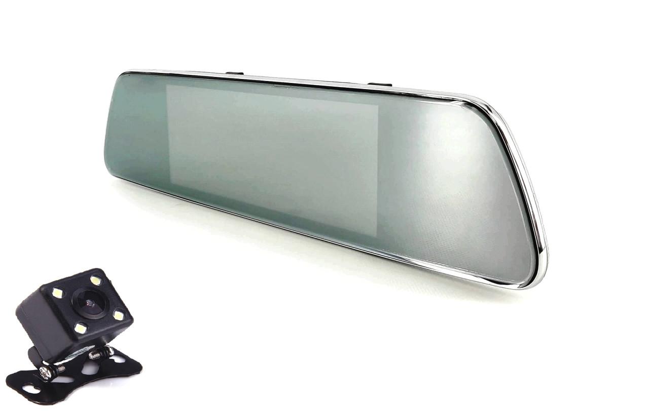 Зеркало-видеорегистратор Android Phisung V300 2 камеры Full HD 1920x1080P GPS 3G Sim