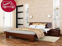 Кровать Титан массив 120х200