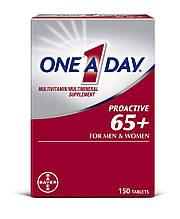 Мультивитамины для мужчин и женщин старше 65 лет One-A-Day Proactive 65+, 150 штук