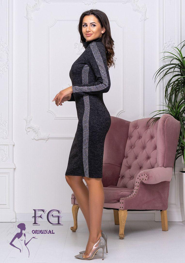 """Платье-гольф из ангоры """"Lurex"""", разные цвета"""