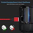 Оригинальный магнитный кабель TOPK TK0141 Type-C Quick Charge 3A быстрая зарядка QC3.0 Red (CS0141800610), фото 2