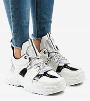 Белые кроссовки для модных девушек