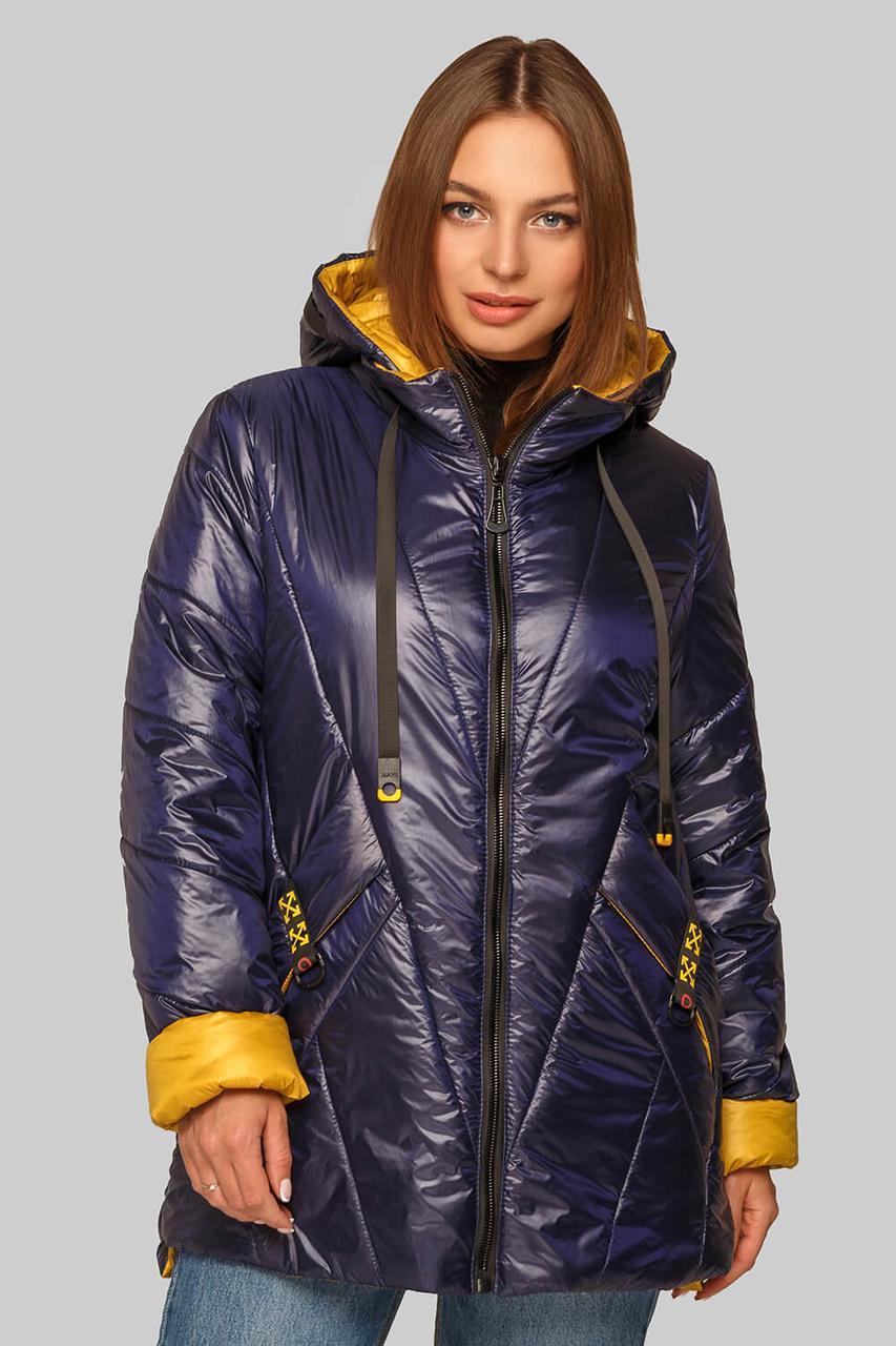 Женская модная куртка Диана на межсезонье больших размеров