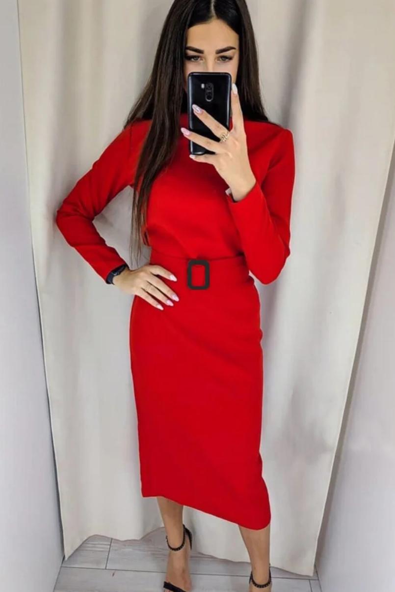 Платье с длинными рукавами для женщин