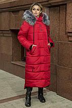 Длинное пальто-куртка на зиму Barbara, р-ры 48-58, фото 3