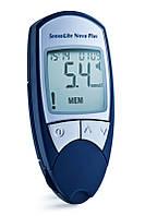 Глюкометр SensoLite Nova Plus (с голосовым сопровождением) без тест полосок в комплекте