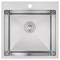 Кухонная мойка Imperial D5050 Handmade 2.7/1.0 mm (IMPD5050H12)