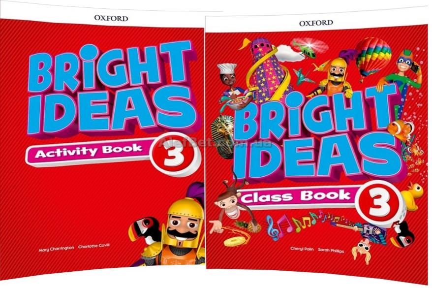 Английский язык / Bright Ideas / Class+Workbook. Учебник+Тетрадь (комплект), 3/ Oxford