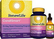 Renew Life, формула Candi Smart для дрожжевого очищения
