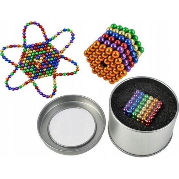 Магнітний конструктор-головоломка неокуб кольоровий Neocube 216 5мм магнітні кульки з доставкою