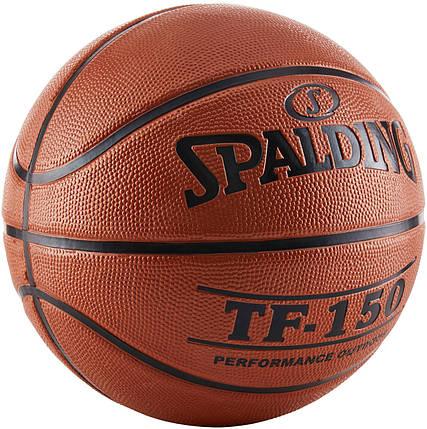 Мяч баскетбольный Spalding TF-150 Outdoor FIBA Logo Size 5, фото 2