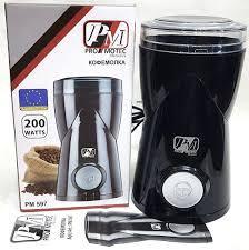 Кофемолка электрическая кухонная с ножами из нержавающей стали Promotec Original PM-597