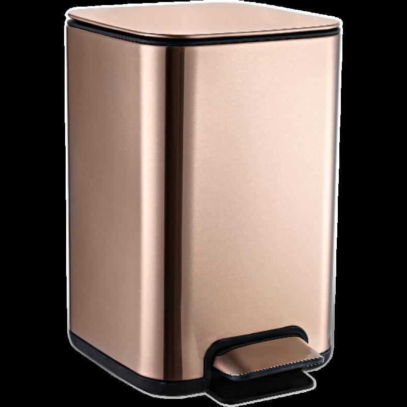 Відро для сміття JAH 25 л (колір рожеве золото)