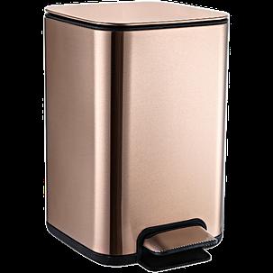 Відро для сміття JAH 25 л (колір рожеве золото), фото 2