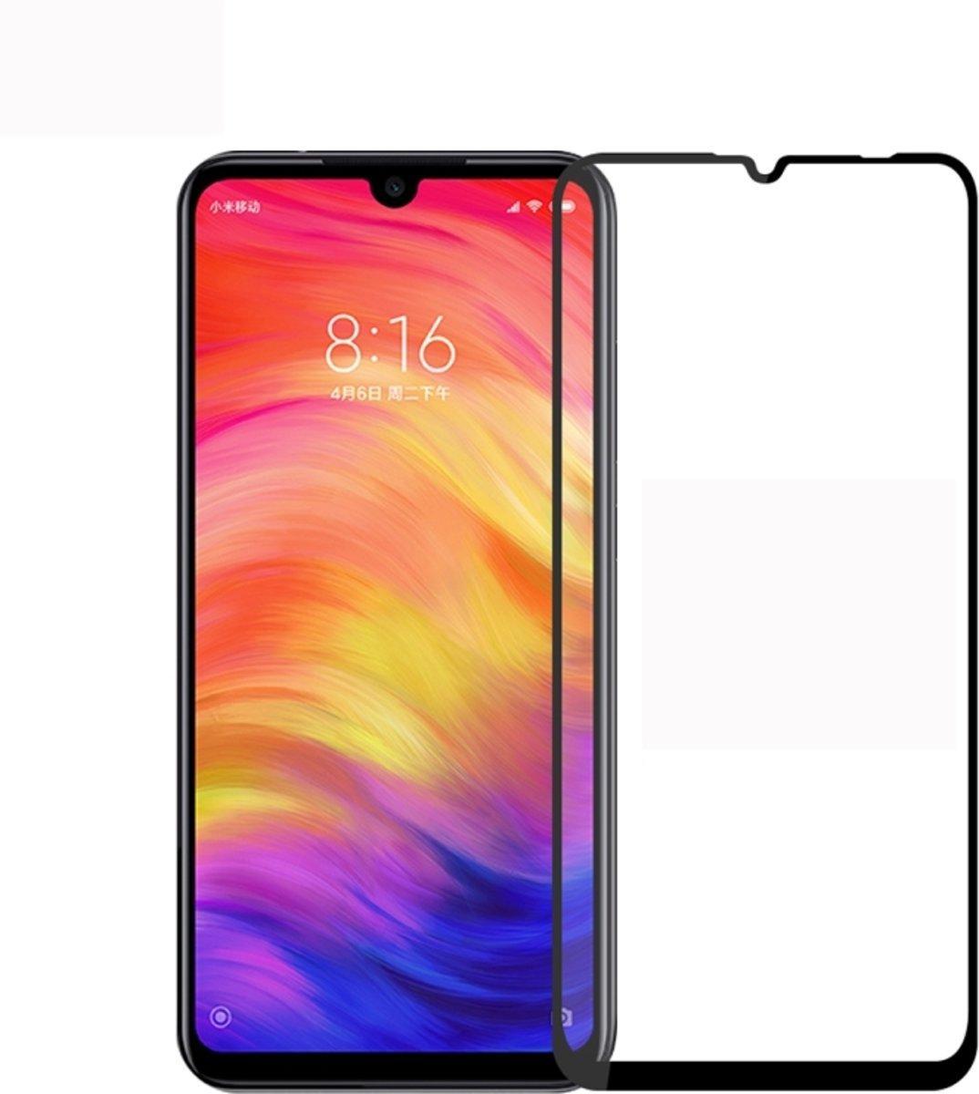 Защитное стекло 3D for Xiaomi Redmi Note 7 Black (no package) (00000007542)