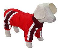 Комбинезон для собаки на синтепоне Заря  теплый 41*50такса средняя