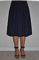 Расклешеная класическая женская юбка в стиле ретро р.42-52. Арт-1568/10