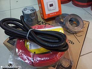 Тонкий двухжильный нагревательный кабель Ryxon HC-20 серия Terneo ST