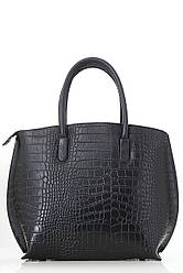 Diva's Bag Жіноча шкіряна сумка RUFA колір чорний