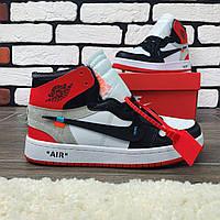 Кроссовки мужские Nike Air Jordan x OFF-White  00038 ⏩ [ 40 размер ]