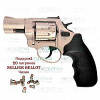 "Револьвер под патрон флобера Stalker 2.5"" Satin Black, фото 1"