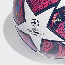 Мяч футбольный Adidas Finale Istanbul League Fifa №5 FH7340 Белый, фото 3