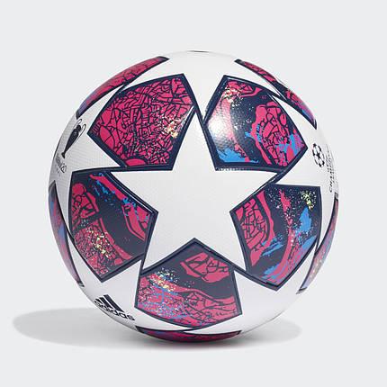 Мяч футбольный Adidas Finale Istanbul League Fifa №5 FH7340 Белый, фото 2