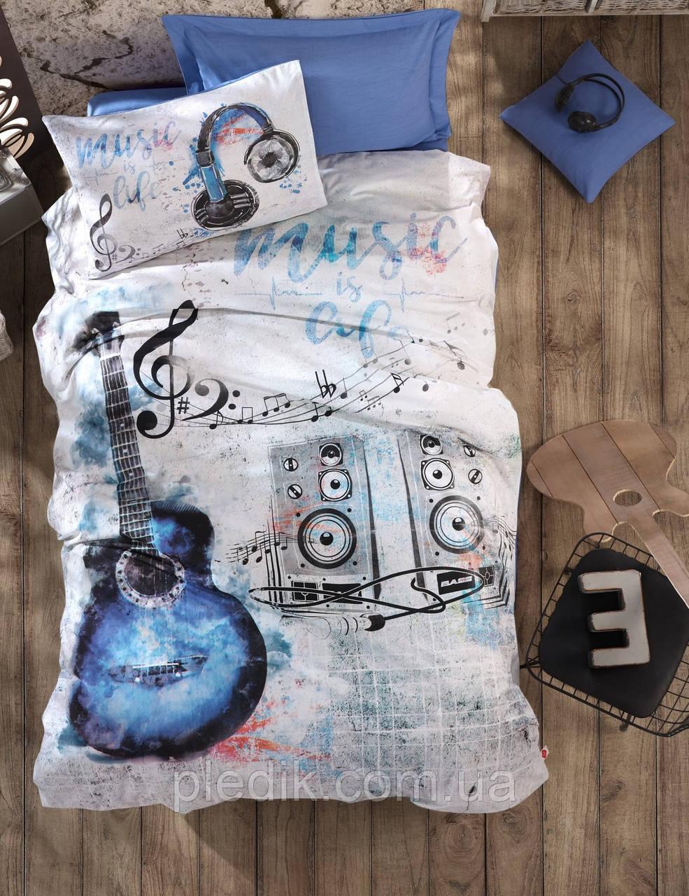 Подростковое постельное белье Cotton Box GUITAR