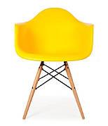 Крісло Тауер Вуд (пластик) (асортимент кольорів) Жовтий