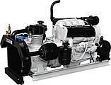 Поршневой компрессор низкого давления Ozen SB 3-160, дизельный привод, фото 4