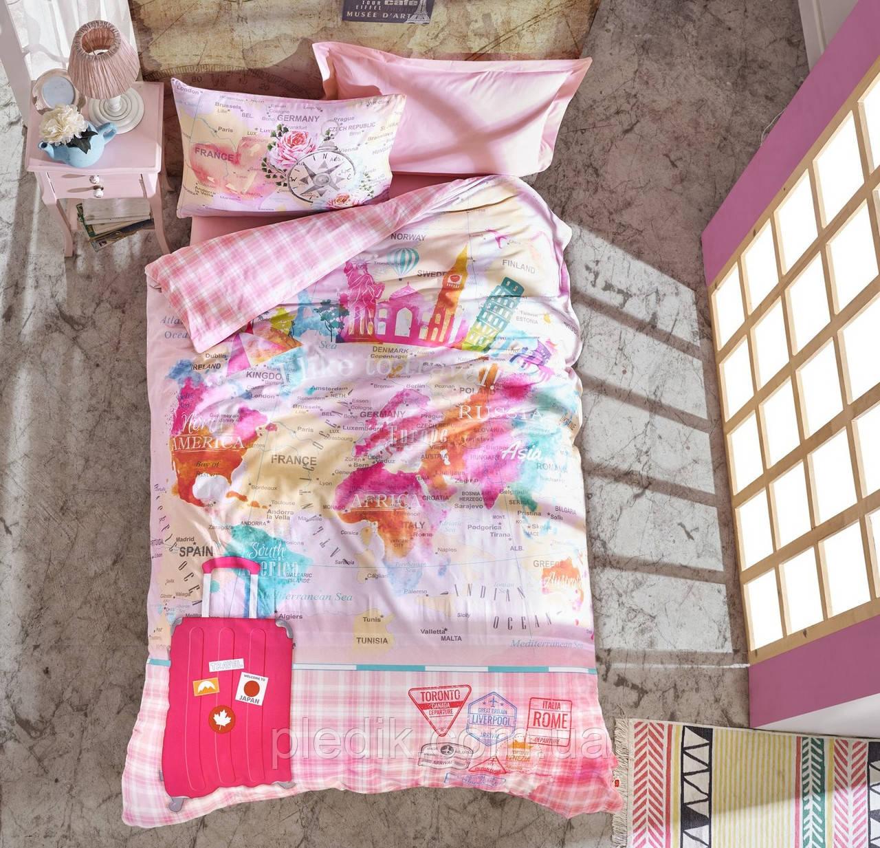 Подростковое постельное белье Cotton Box ESCAPE