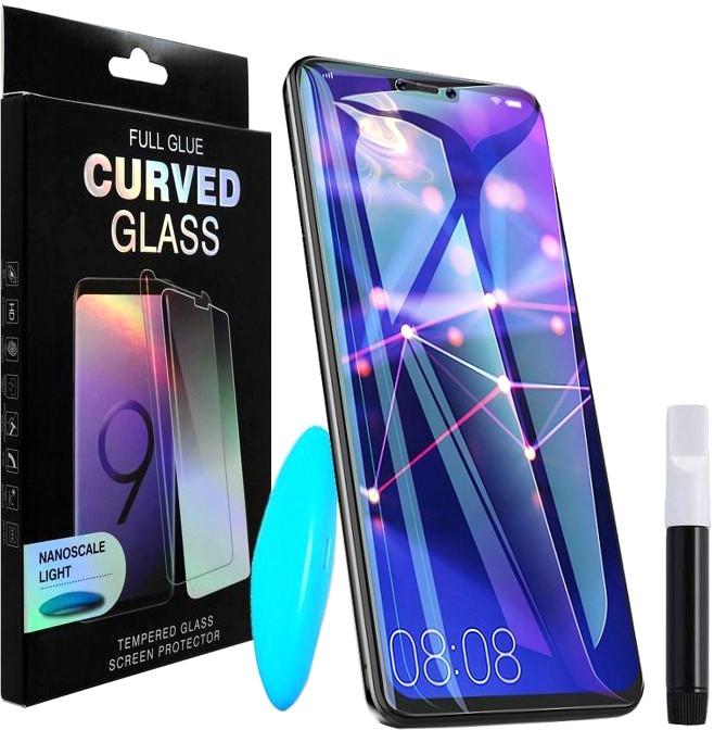 Захисне скло PowerPlant Samsung Galaxy S10 Plus (рідкий клей + УФ лампа) (GL606153)