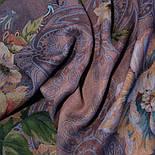 10467-14, павлопосадский платок шерстяной (разреженная шерсть) с швом зиг-заг, фото 8