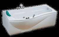 Ванна акриловая CRW с гидромассажем  170х88х57см