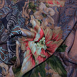 10467-14, павлопосадский платок шерстяной (разреженная шерсть) с швом зиг-заг, фото 9
