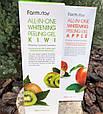 Осветляющий пилинг-гель с экстрактом яблока FarmStay All-In-One Whitening Peeling Gel Apple, фото 2
